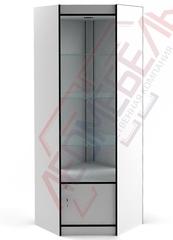 ВУ-162-Д Витрина стеклянная угловая серия