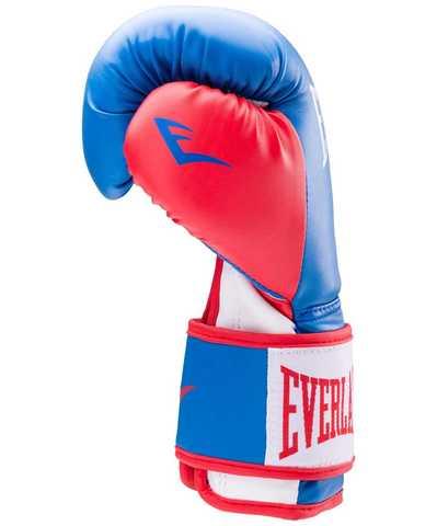 Перчатки боксерские Prospect Everlast  синий/красный