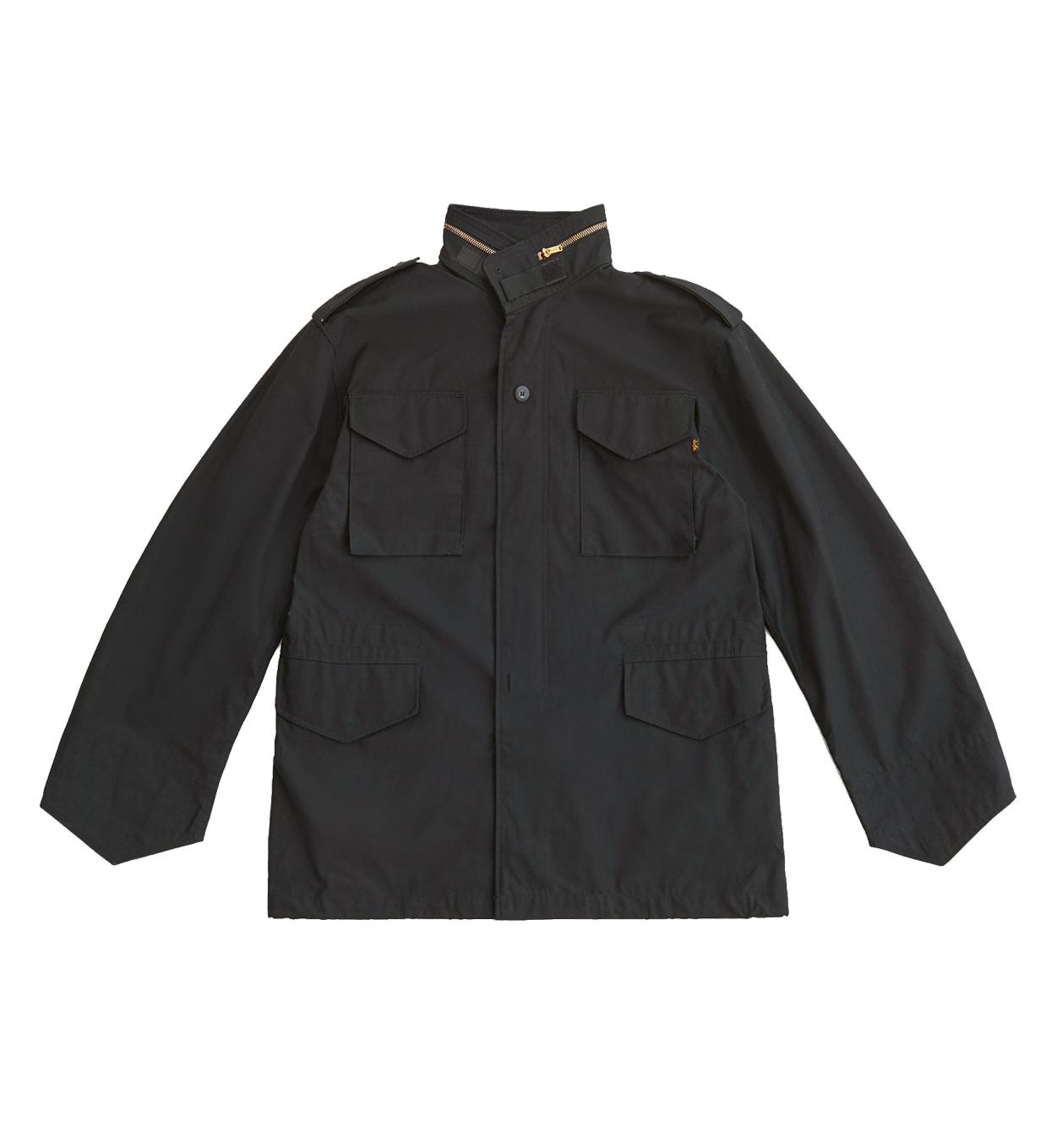 Куртка Alpha Industries M-65 Black (черная)