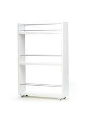 полка выдвижная, для кухни и ванной комнаты 76х52х16 см, 3-х этажная, белый