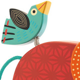 Каталка на веревочке «Слоник»