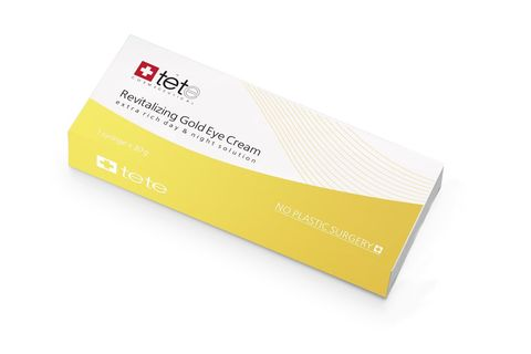 Омолаживающий крем для глаз с коллоидным золотом / TETe REVIALIZING GOLD EYE CREAM, 30 ml