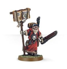 Missionary with Chainsword