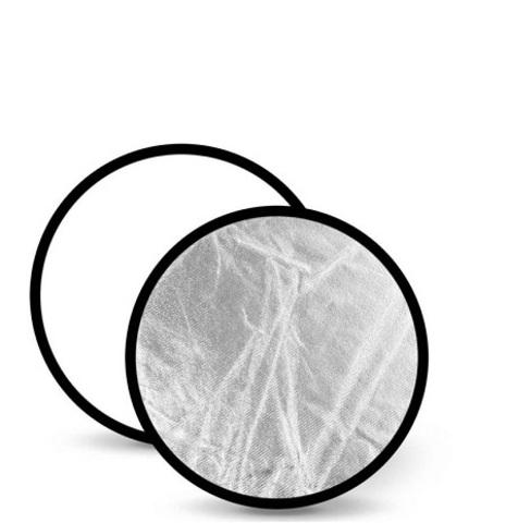 Отражатель FST RD021WS 80cm 2 в 1 белый/серебро