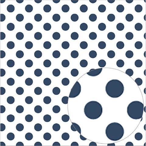 Ацетатный лист  30 х30 см - Bazzill Printed Acetate Dots Sheets  - Admiral