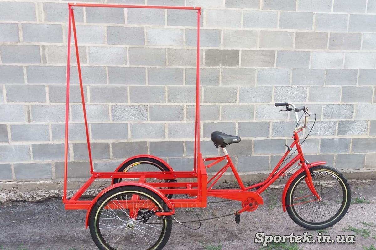 Триколісний велосипед 'Рекламний' для пересувної реклами
