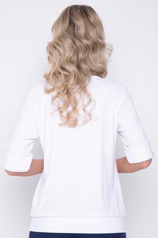 <p>Желаете быть модной? Эта модель для Вас! Удобно, выгодно, комфортно. Отличный блузон свободного кроя, рукав реглан до локтя с манжетом и патой с и пуговицей.</p>