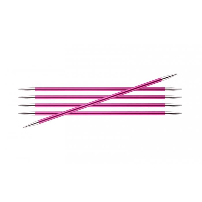 Спицы KnitPro Zing чулочные 5 мм/15 см 47011