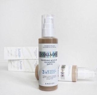 Тональный крем Enough Collagen Whitening Moisture 13