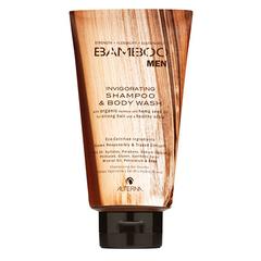 Alterna Bamboo Men Invigorating Shampoo and Body Wash - Тонизирующий шампунь и гель для душа