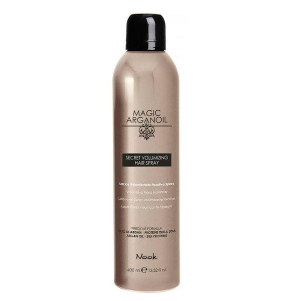 Лак секретный для объемных укладок волос Магия Арганы Nook Magic Arganoil Secret Volumizing Hairspray 400мл