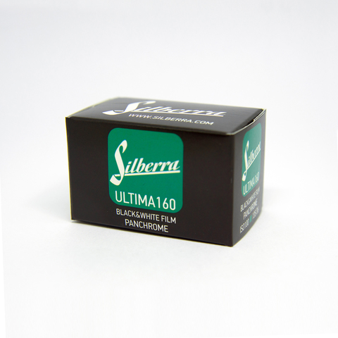 Фотопленка Silberra ULTIMA 160, 35 мм, 36 кадров, ч/б