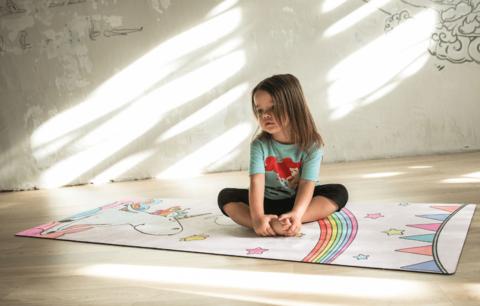 Детский коврик Unicorn OM 150*61*0,3 см из микрофибры и каучука