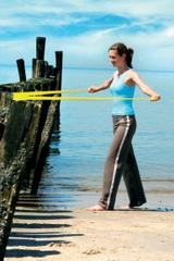 Эспандер для укрепления мускулатуры рук, предплечья и ног FITBAND (с зажимом)
