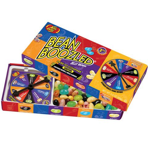 Невкусные конфеты с игрой Bean Boozled Game Jelly Belly 100 г.