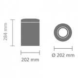 Несгораемая корзина для бумаг (7л), артикул 378942, производитель - Brabantia, фото 4