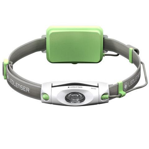 Фонарь светодиодный налобный LED Lenser NEO4 зеленый, 240 лм., 3-ААА
