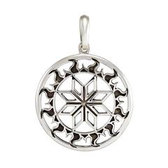 Алатырь символ славян кулон