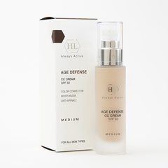 Holy Land Age Defense CC Cream Light (SPF50) - Kорректирующий крем