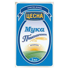 Мука ЦЕСНА пшеничная в/с 2кг