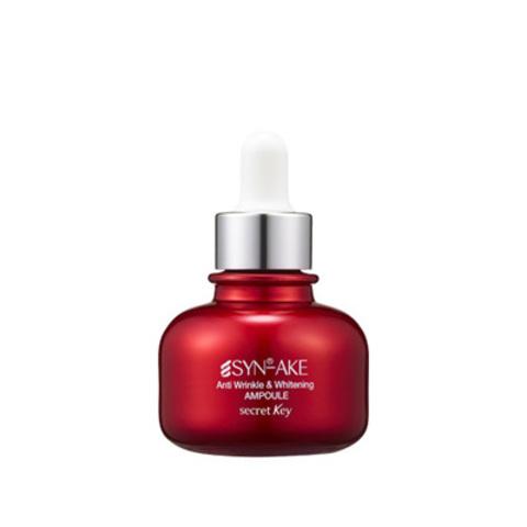 Сыворотка secretKey Synake Anti Wrinkle & Whitening Ampoule 30ml
