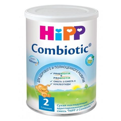 HIPP. Сухая адаптированная молочная смесь Combiotic с 6 мес., 350 г