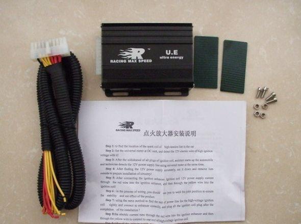 Усилитель зажигания UE RMS с инструкцией по подключению
