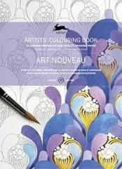 Coloring book Арт-нуво