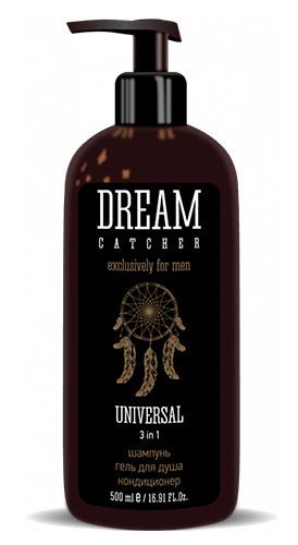3 в 1 для мужчин: Гель для душа, шампунь и кондиционер для волос, Dream Catcher