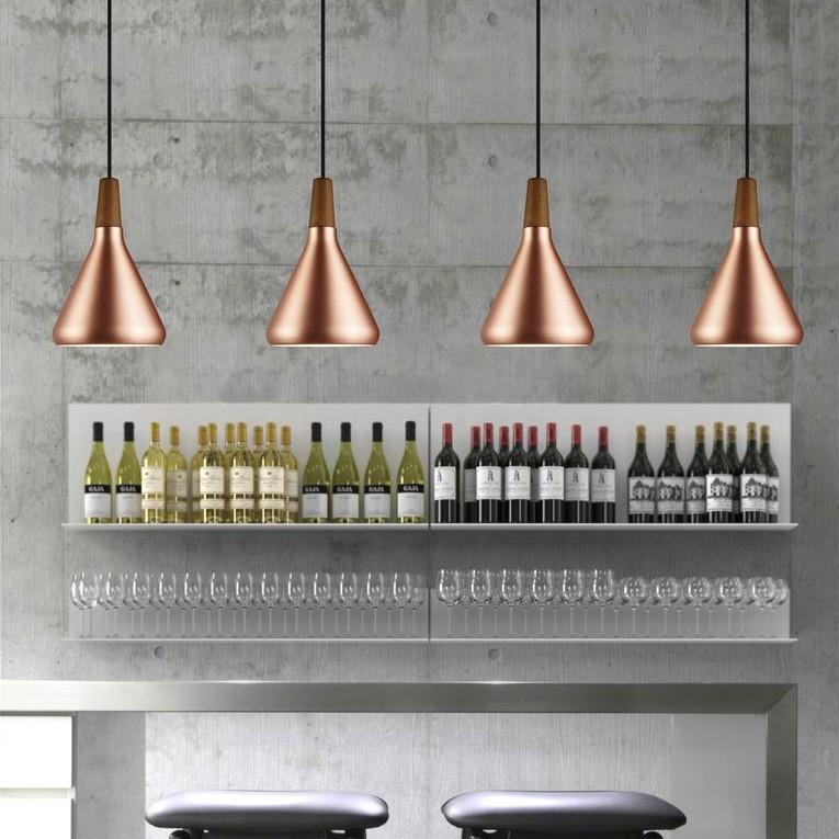 Подвесной светильник копия FLOAT by Nordlux D 18 (бронзовый)