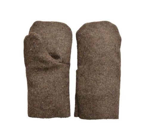 Утепленные рукавицы суконные
