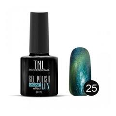 TNL, Гель-лак Magnet LUX №25 - блестящий бирюзовый, 10 мл