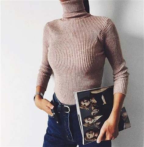 Водолазка Knitted