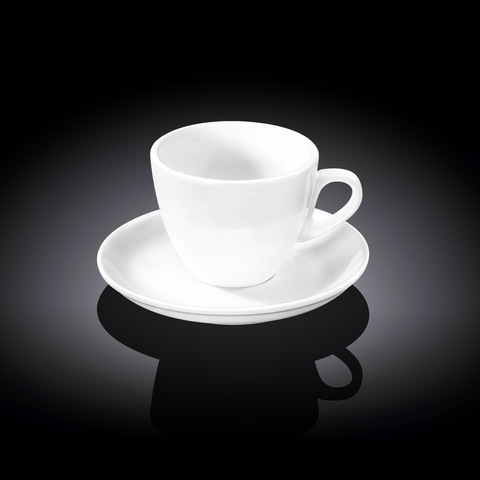 Набор чайная чашка и блюдце Wilmax 190 мл (WL-993175)