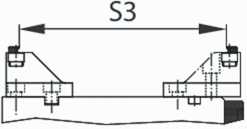 Губка 64 мм, для T-Rex / Centro Gripp подвижная 125