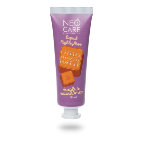 Neo Care Хайлайтер Glitter mousse toffee, 30мл