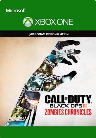 Xbox Store Россия: Xbox One Call of Duty: Black Ops III Zombies Chronicles (цифровой ключ, русская версия)