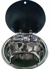 Раковина кругл. DOMETIC SMEV VA7307, диам.=420мм, глуб.=198мм