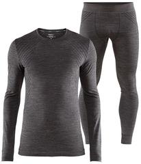 Комплект термобелья Craft Fuseknit Comfort Grey мужской