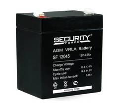 Аккумулятор Security Force 12V/4,5A