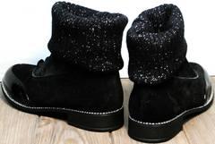 Ботинки чулки купить Kluchini 5161 k255 Black