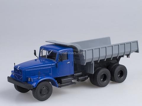 KRAZ-256 B1 Tipper blue-gray 1:43 AutoHistory