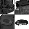 Тактический рюкзак 2 в 1 Mr. Martin  5054 Черный