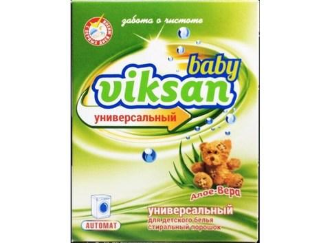Aquasun Viksan  Стиральный порошок baby автомат «Алое-Вера» 400 г