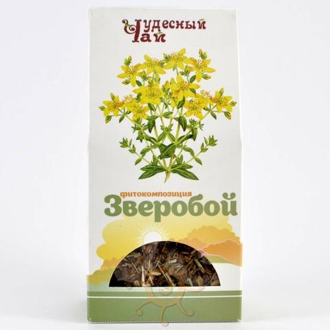 Зверобой трава сушеная Чудесный чай, 50г