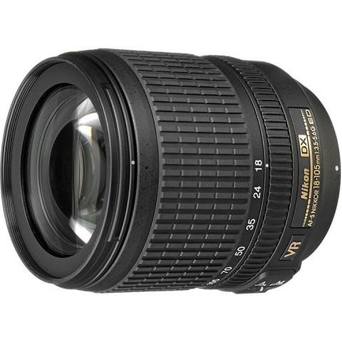 Объектив Nikkor AF-S DX 18-105mm f/3.5-5.6G ED VR IF Black для Nikon