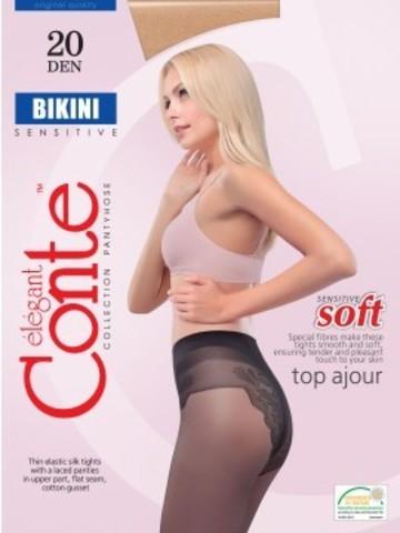 Conte Bikini Колготки женские 20d, p.2 mocca