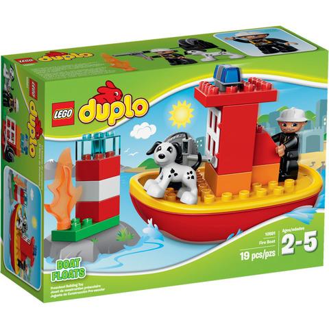 LEGO Duplo: Пожарный катер 10591 — Fire Boat — Лего Дупло