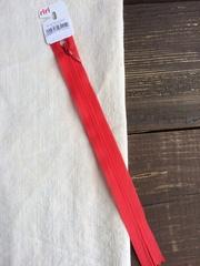Молния потайная Т3, Riri, 22см, красный
