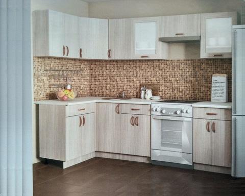 Кухня модульная угловая ЛЕГЕНДА-10 2500*1200